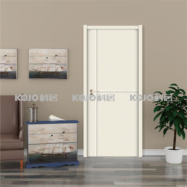 OEM ODM No Formaldehyde WPC Material Simple Style Fashion Security Door