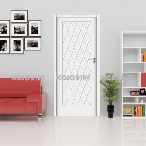 WPC New Material Eco-Friendly Waterproof Interior Door with High Strength